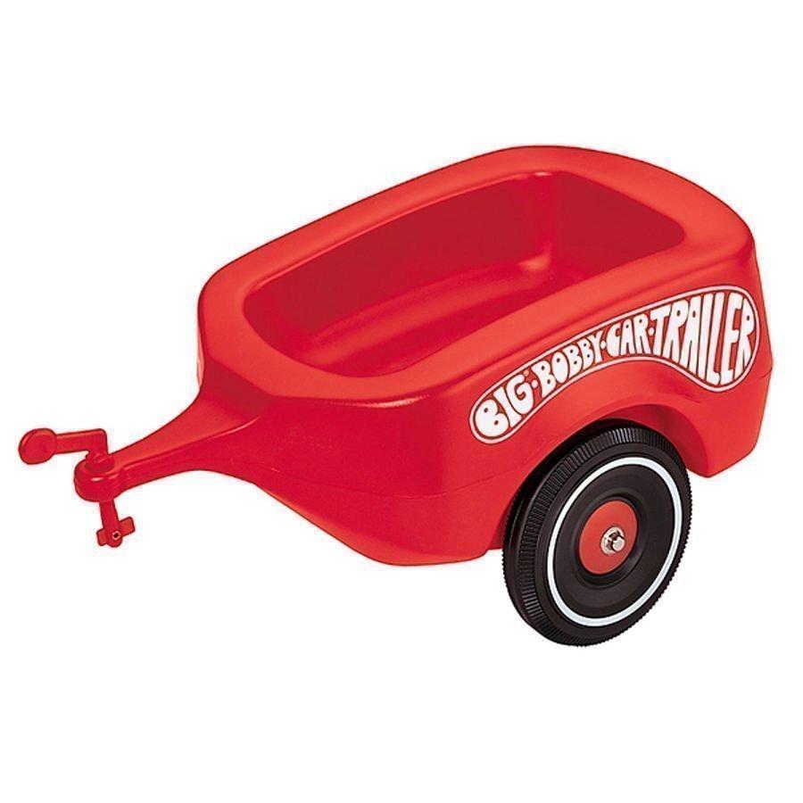 Big Bobby Car Trailer Peräkärry Classic Punainen