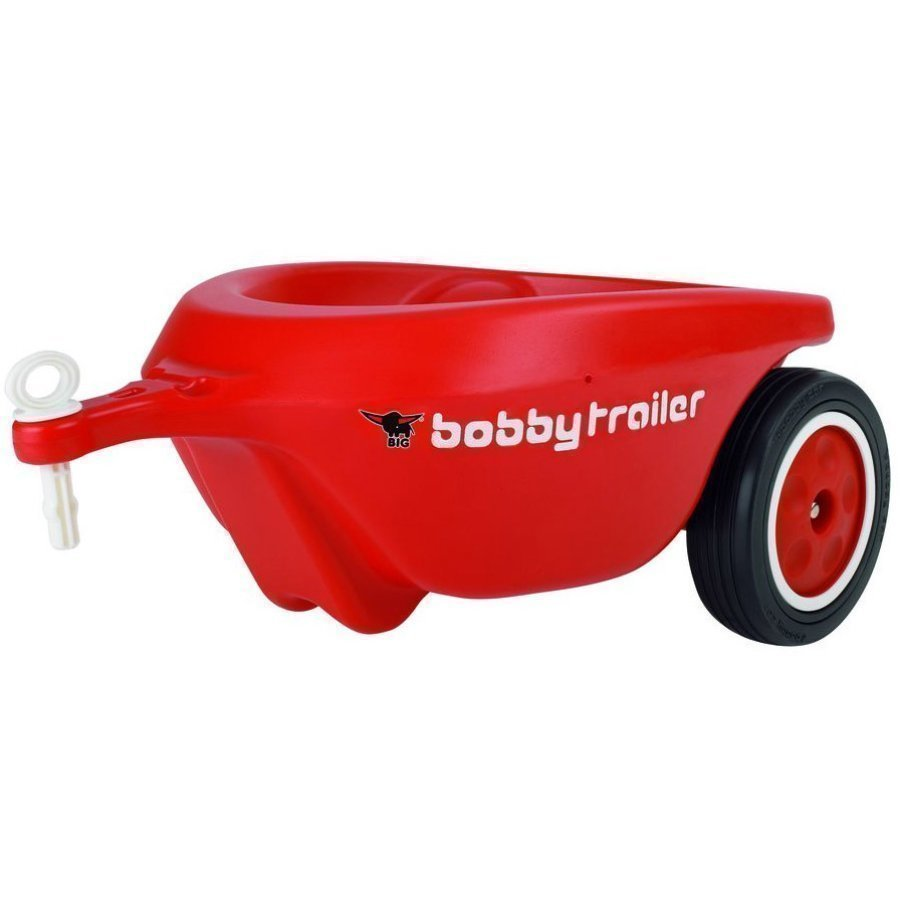Big New Bobby Car Trailer Peräkärry Punainen