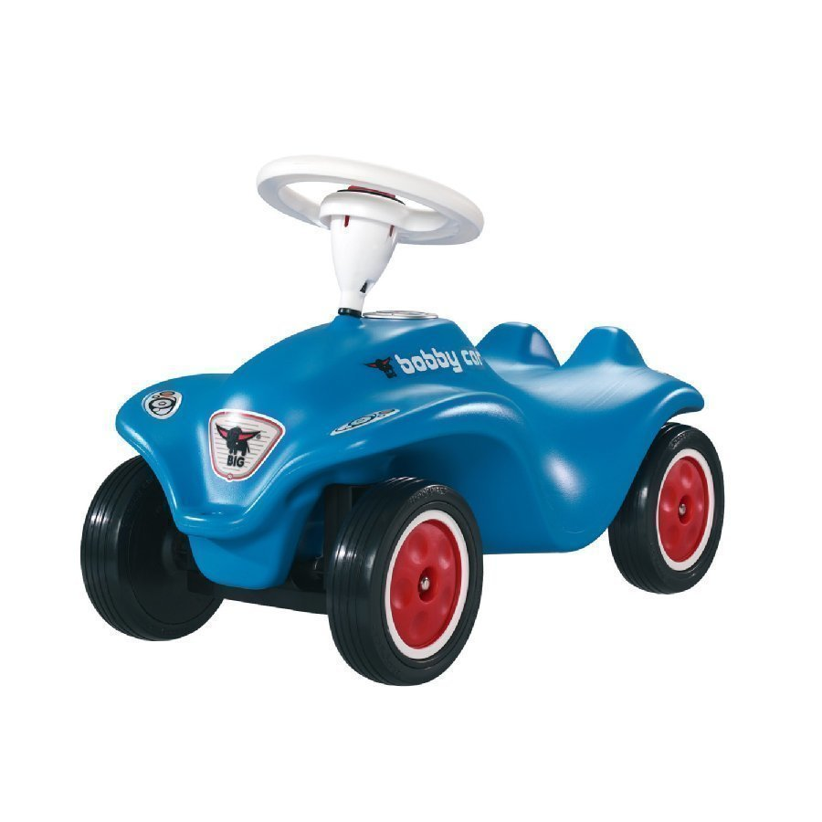 Big Potkuauto New Bobby Car Hiljaisilla Renkailla Sininen