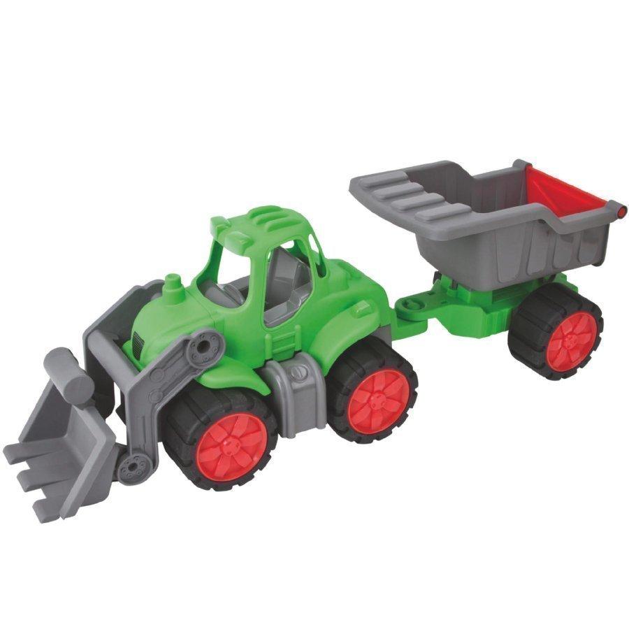 Big Power Worker Traktori + Kippi