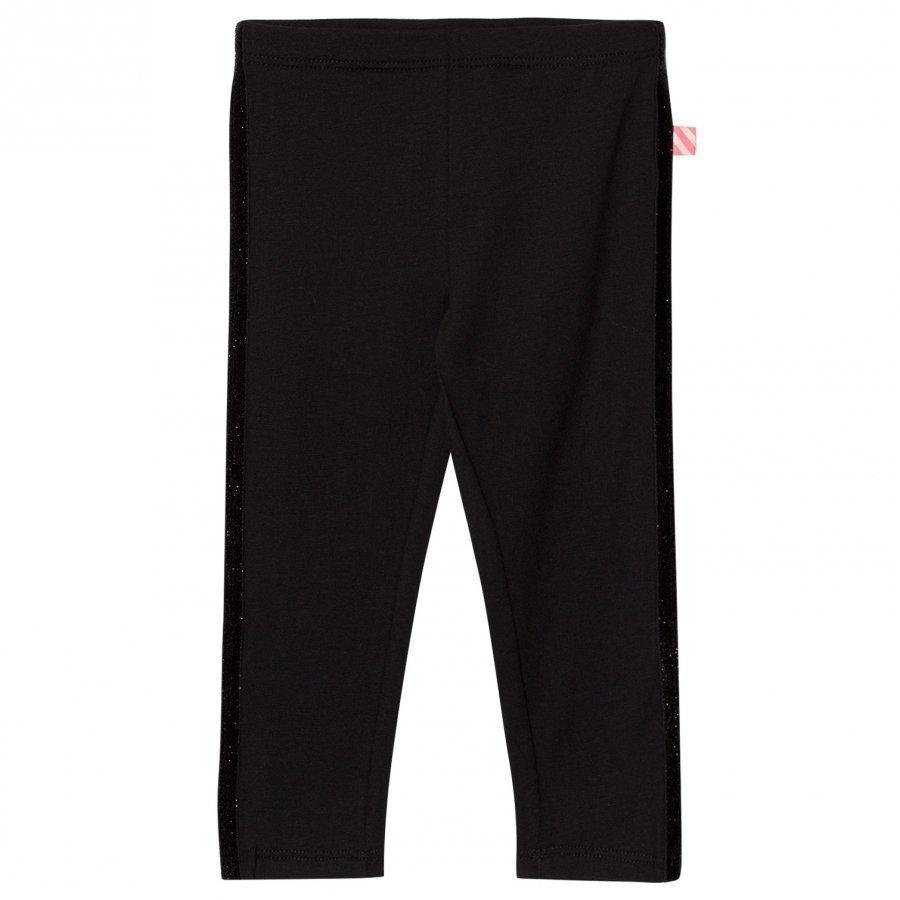 Billieblush Black Glitter Detail Leggings Legginsit