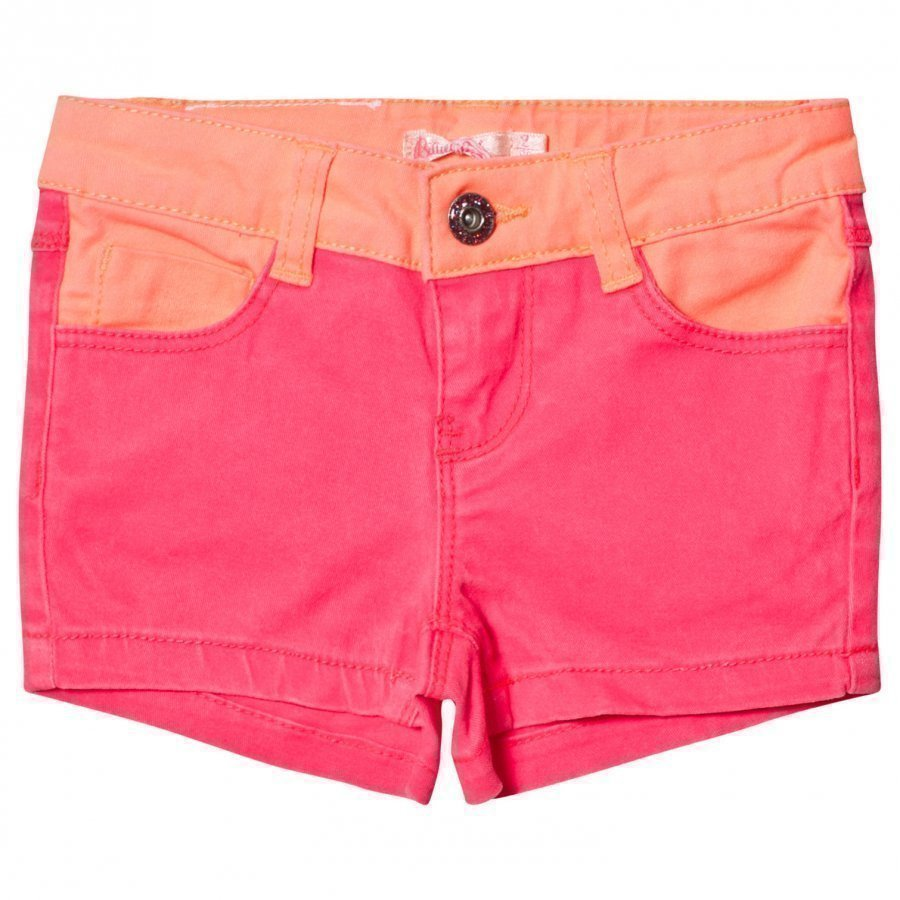 Billieblush Hot Pink Denim Shorts Farkkushortsit