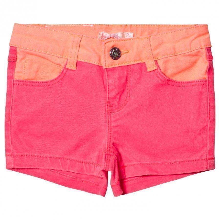 Billieblush Hot Pink Denim Shorts Farkkushortsit