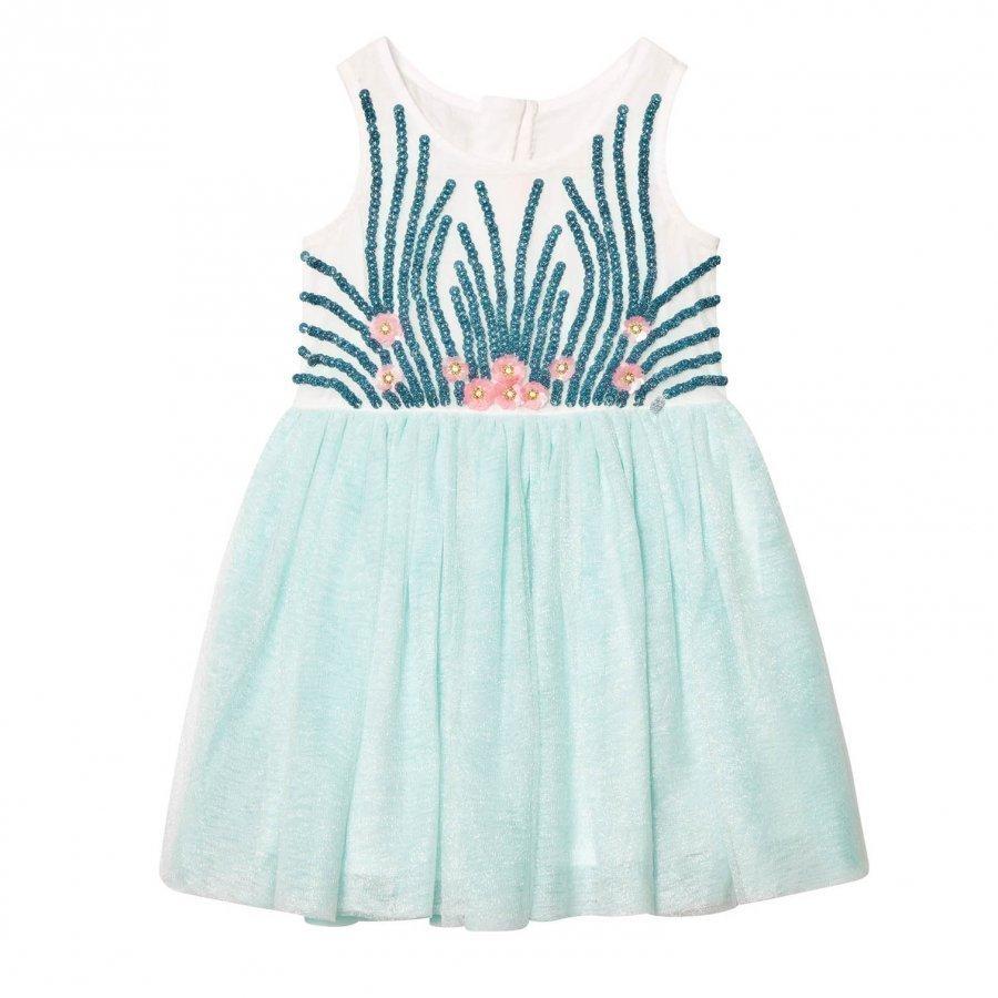 Billieblush Mint Tulle Sequin And Embellished Dress Juhlamekko