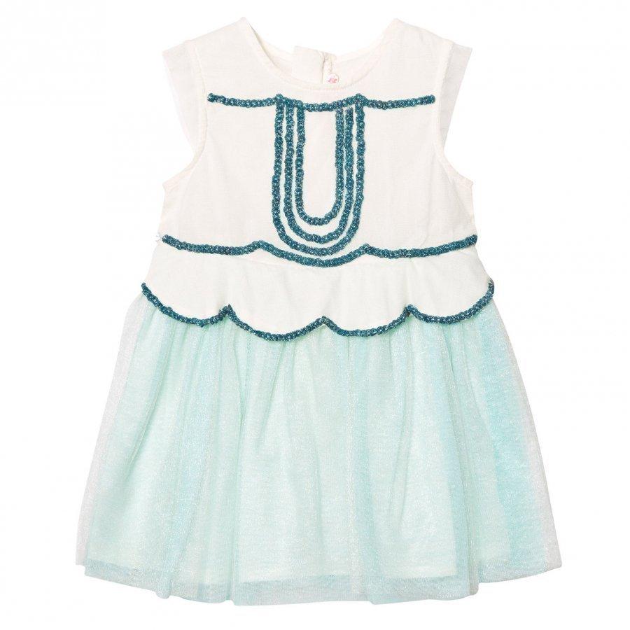 Billieblush Mint Tulle Sequin And Embellished Dress Mekko