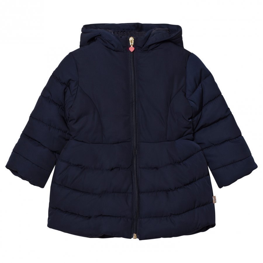 Billieblush Navy Puffer Jacket Toppatakki