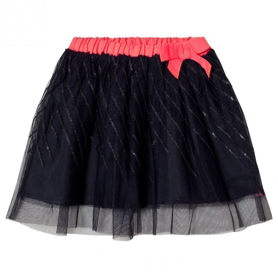 Billieblush Navy Sequin Tutu Skirt Tyllihame