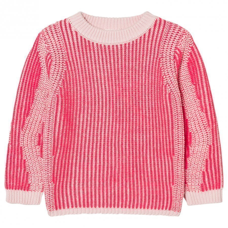 Billieblush Neon Pink Ribbed Jumper Paita