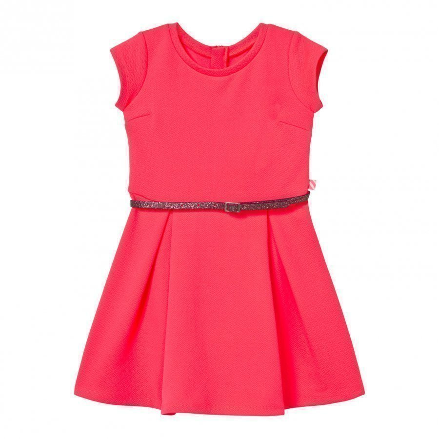 Billieblush Neon Pink Skater Dress Juhlamekko