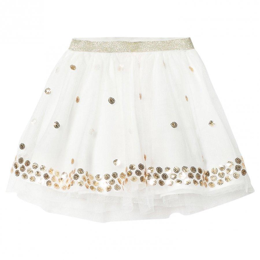 Billieblush Off White Sequin Spot Tutu Skirt Tyllihame