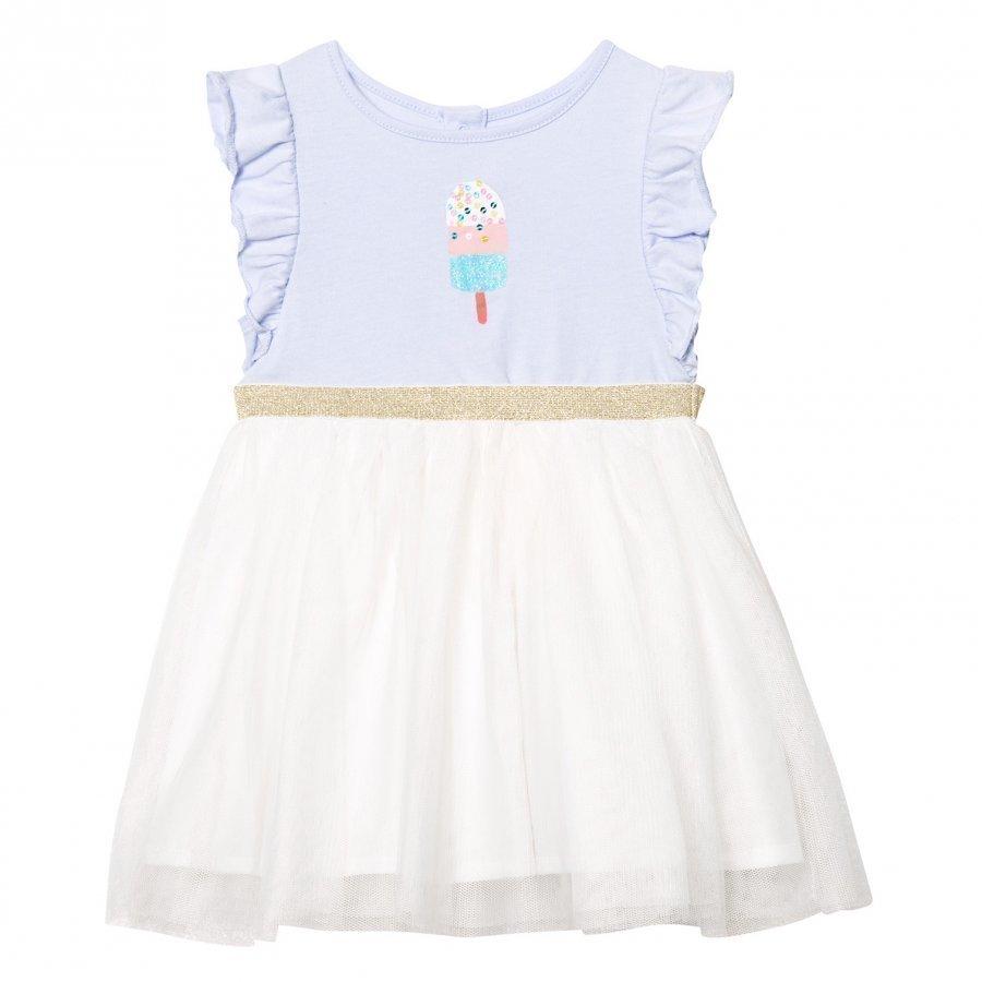 Billieblush Pale Blue Ice Lolly Print Tutu Dress Juhlamekko