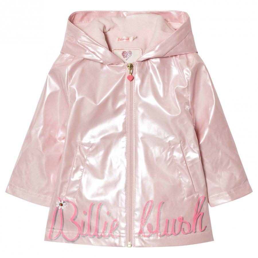 Billieblush Pale Pink Rain Coat Sadetakki