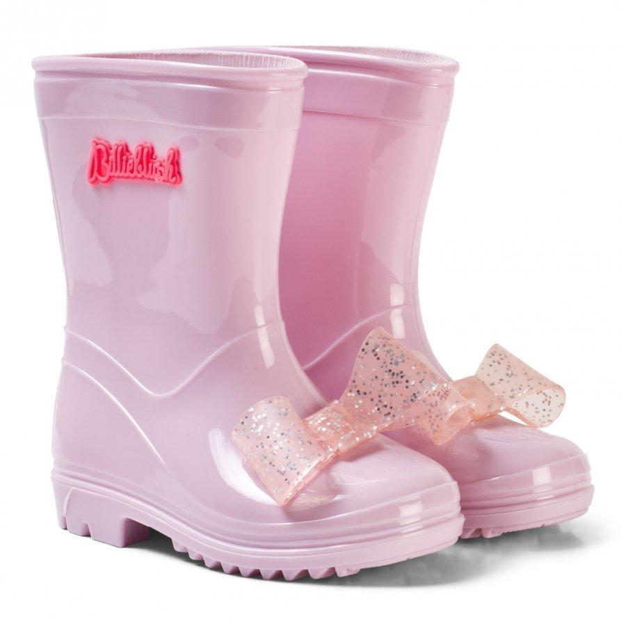 Billieblush Pink Bow Rain Boots Kumisaappaat