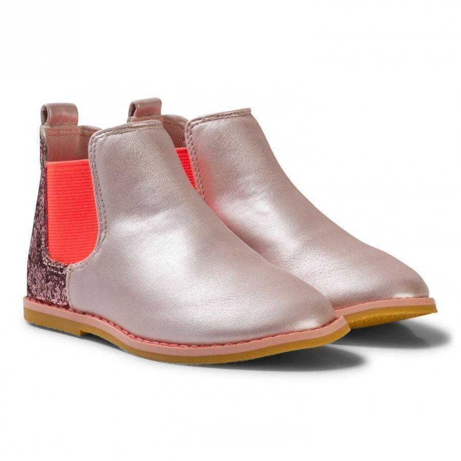 Billieblush Pink Glitter Back Chelsea Boot Vauvan Tossut
