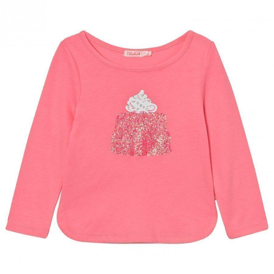 Billieblush Pink Jelly Glitter Tee T-Paita