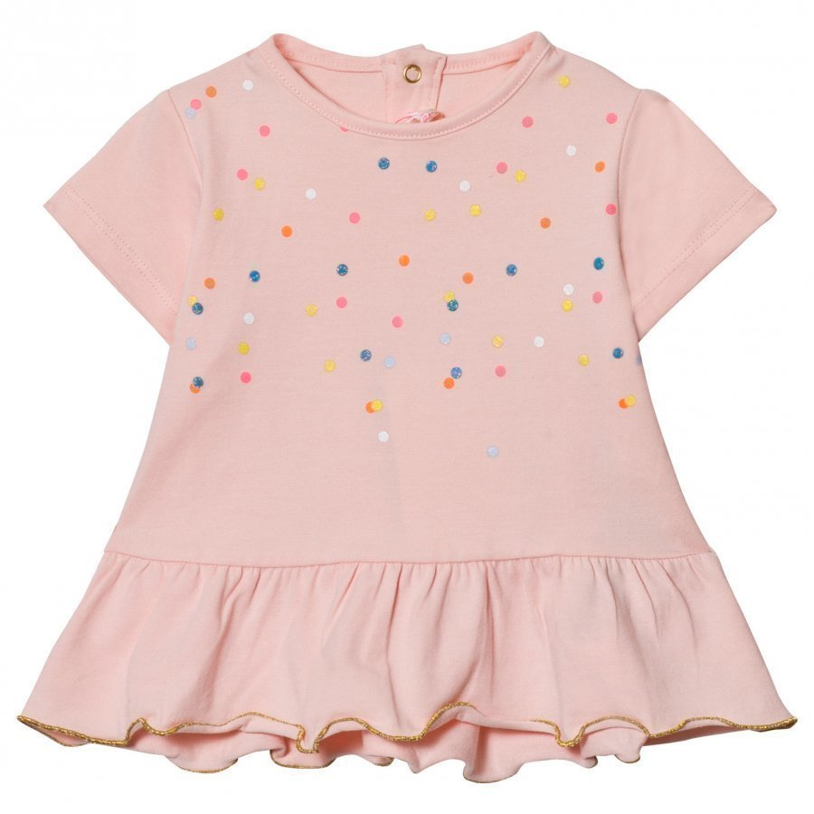 Billieblush Pink Spot Peplum Tee T-Paita