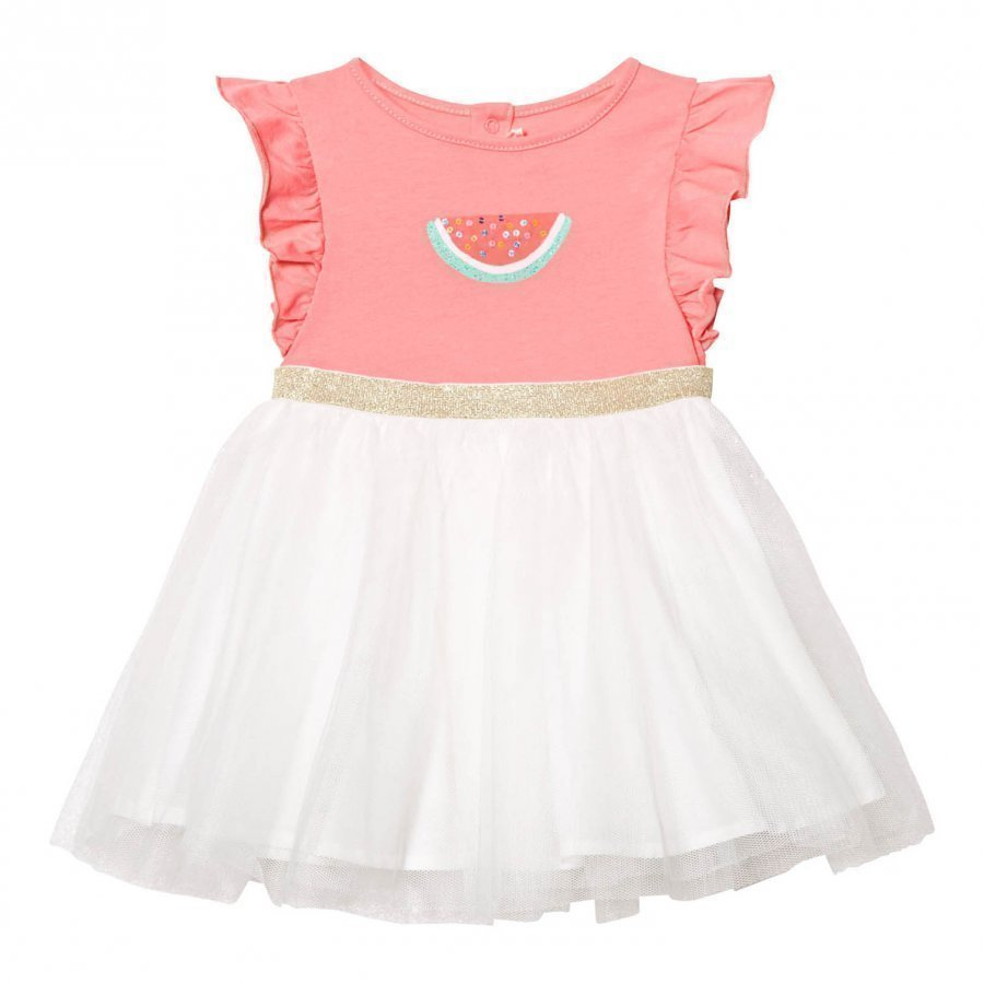 Billieblush Pink Watermelon Print Tutu Dress Juhlamekko