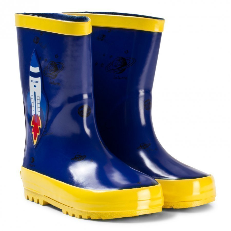 Billybandit Blue Rocket Wellies Kumisaappaat
