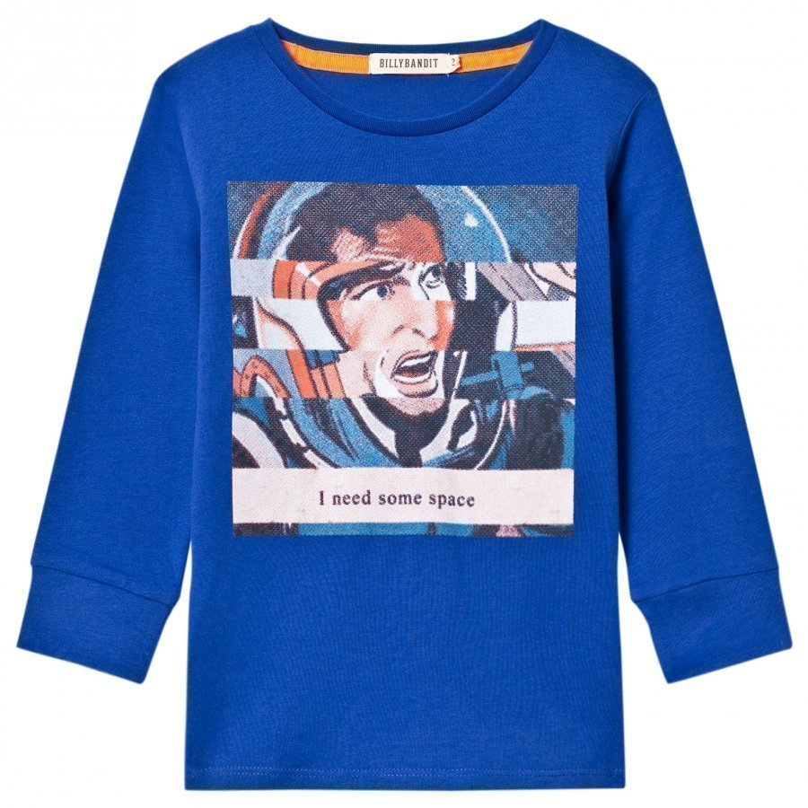 Billybandit Blue Space Print Tee T-Paita