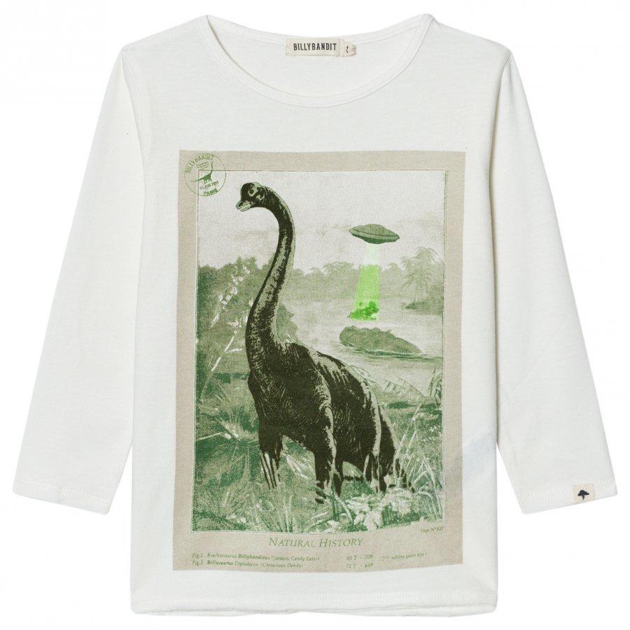 Billybandit Cream Dinosaur Tee T-Paita
