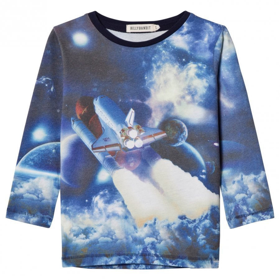Billybandit Multi Space Photo Print Tee T-Paita