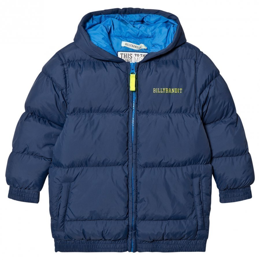 Billybandit Navy Padded Coat Toppatakki
