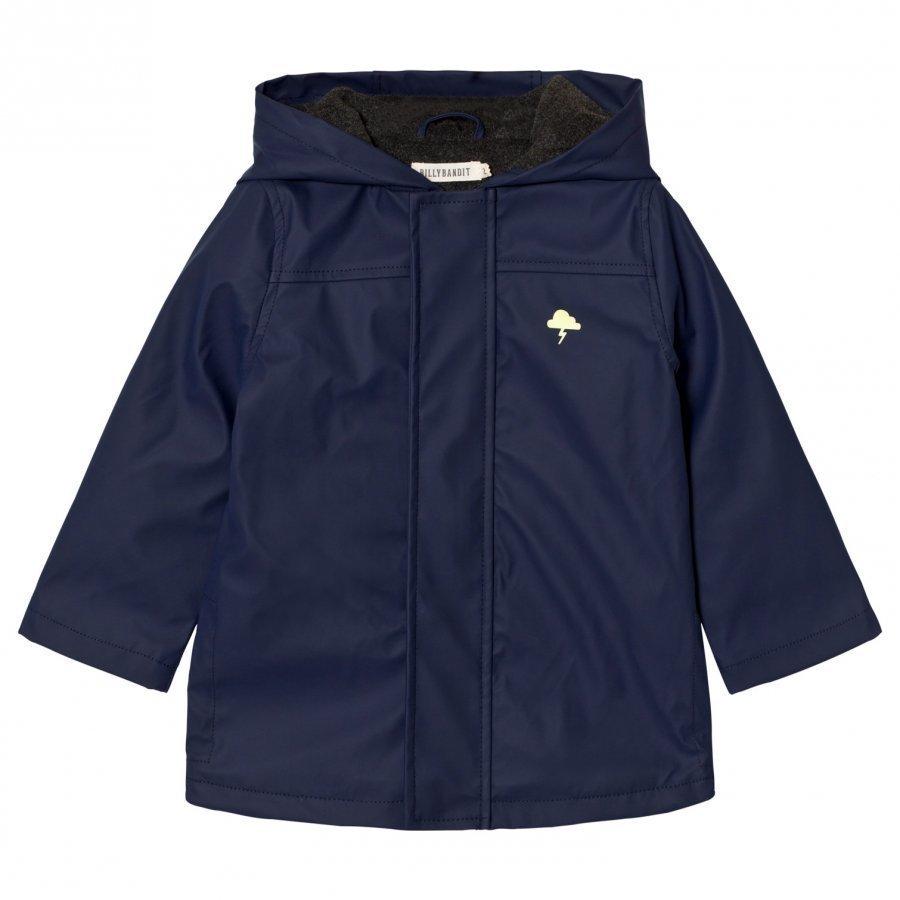 Billybandit Navy Rain Coat Sadetakki