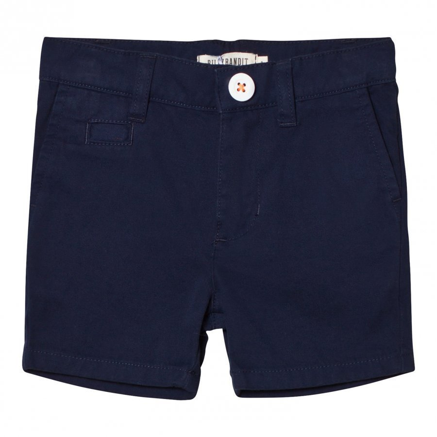 Billybandit Navy Smart Chino Shorts Shortsit