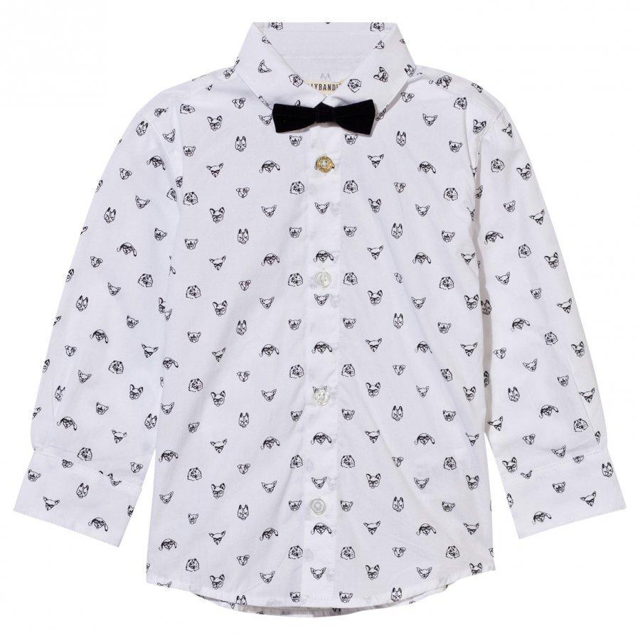 Billybandit Shirt White Kauluspaita