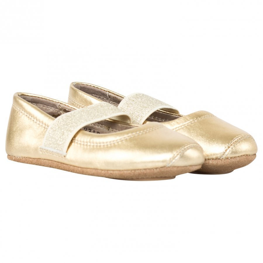 Bisgaard Ballet Shoe Gold Ballerinat