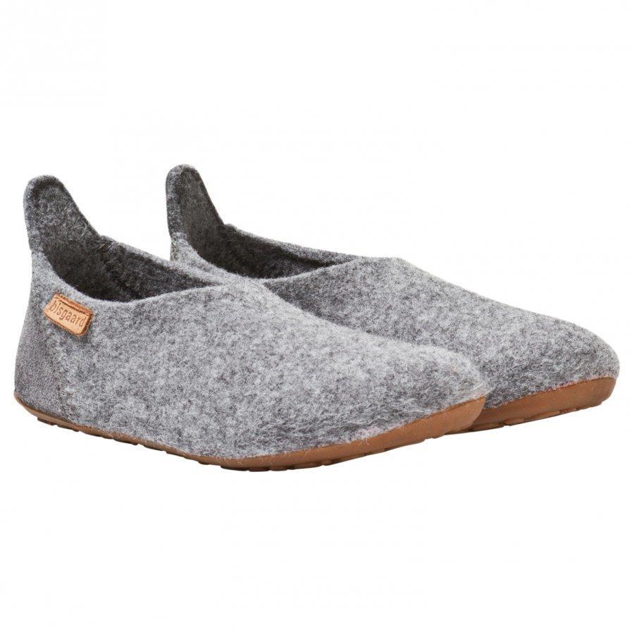 Bisgaard Basic Wool Home Shoe Grey Ballerinat