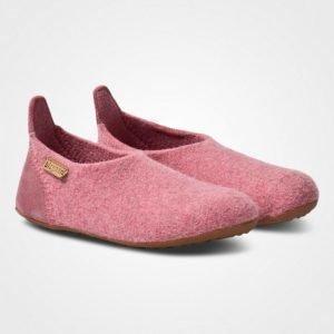 Bisgaard Basic Wool Home Shoe Rose Sisätossut