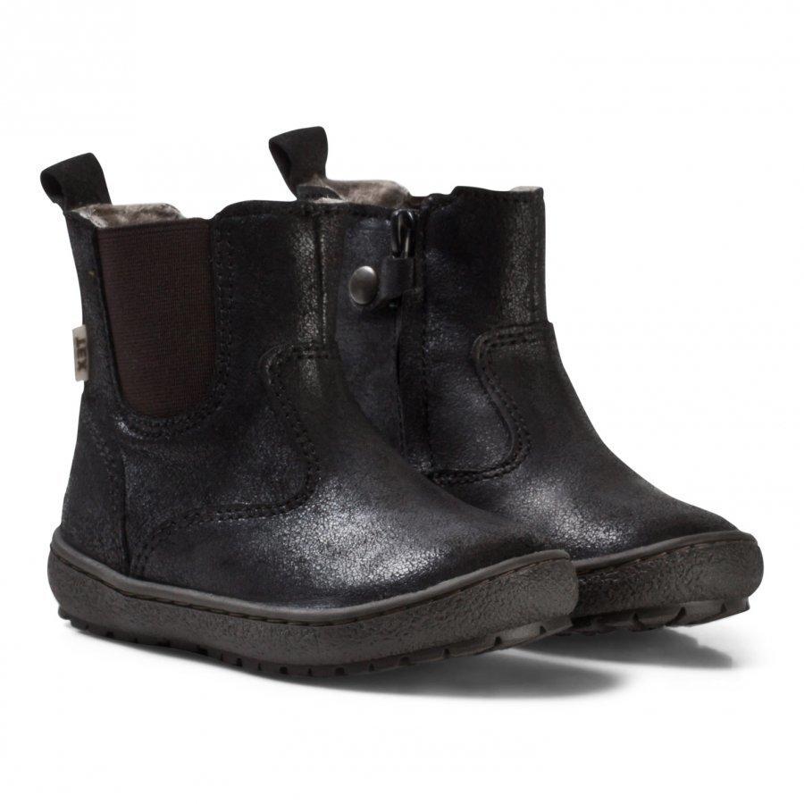 Bisgaard Boots Black Nilkkurit