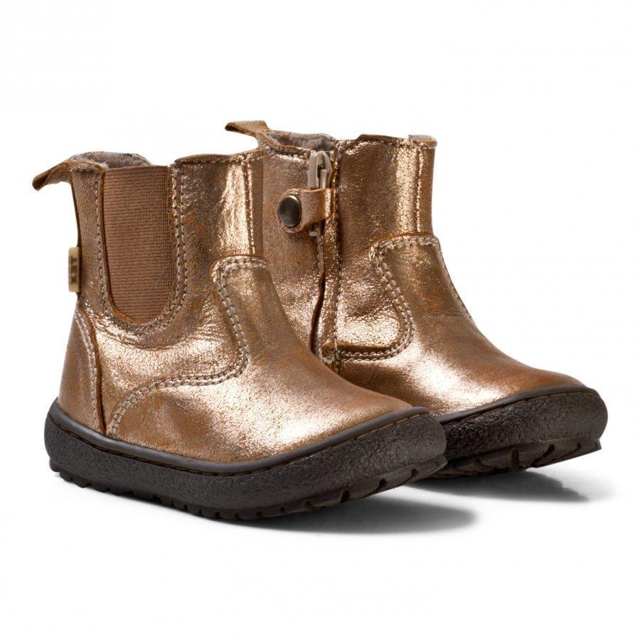 Bisgaard Boots Gold Nilkkurit