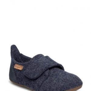 Bisgaard Home Shoe Wool Velcro