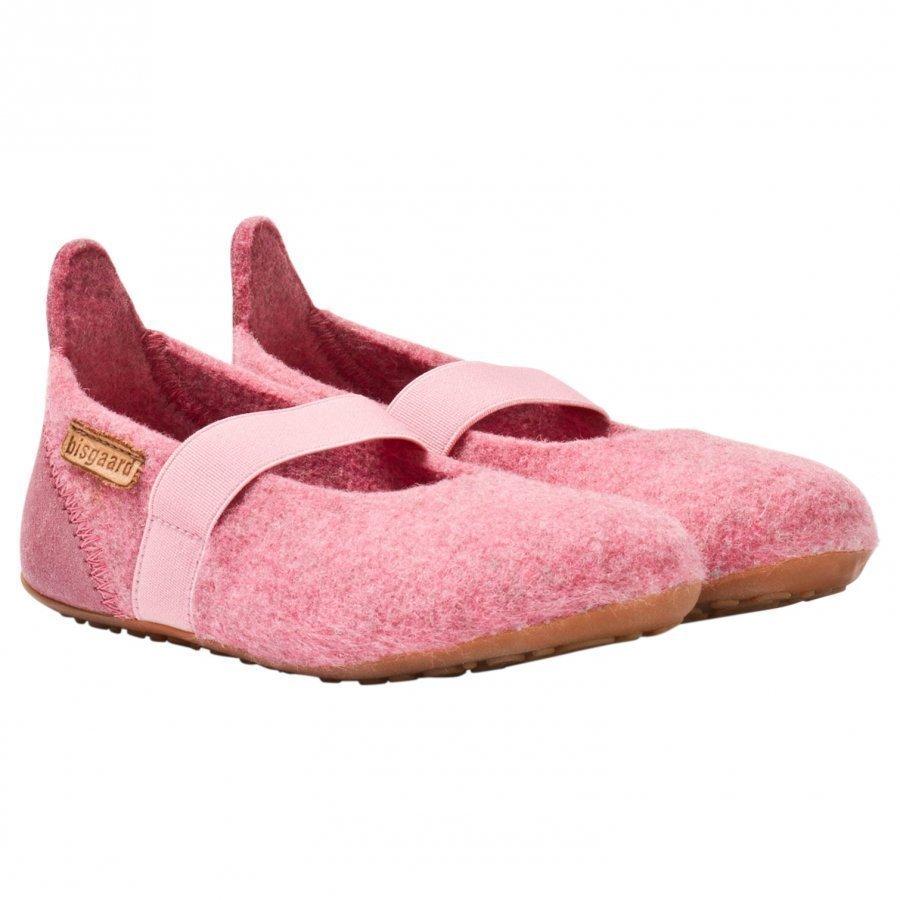 Bisgaard Home Wool Ballet Shoe Rose Ballerinat