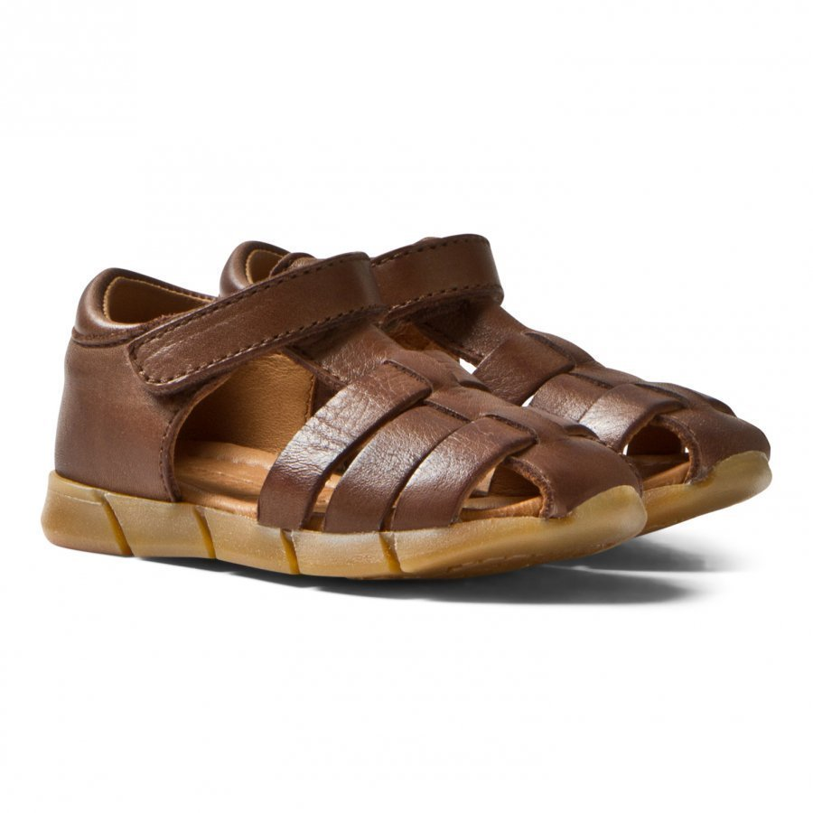 Bisgaard Sandals Brown Remmisandaalit