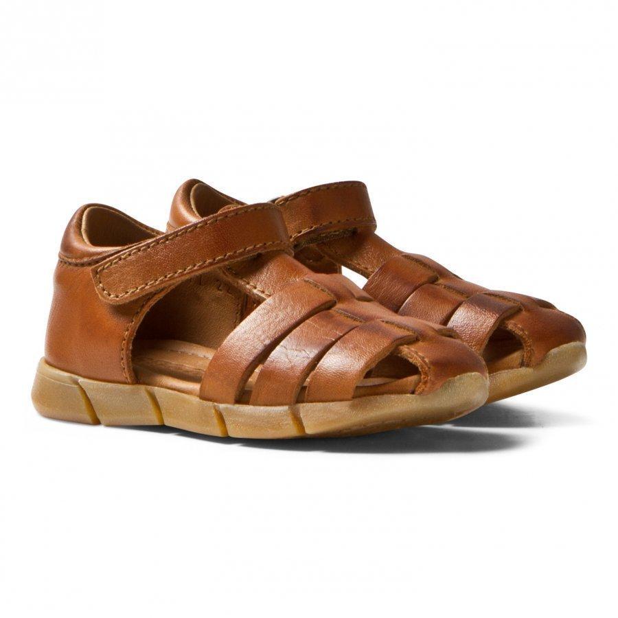 Bisgaard Sandals Cognac Remmisandaalit