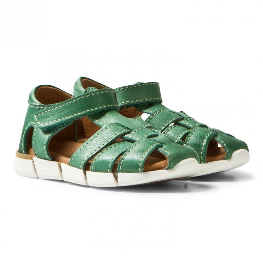 Bisgaard Sandals Green Remmisandaalit