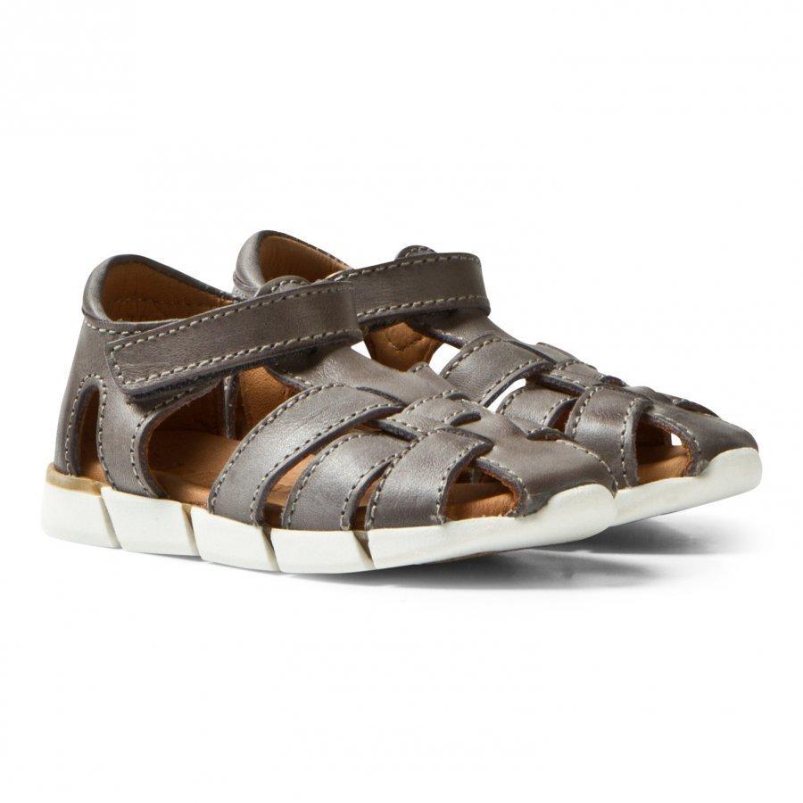 Bisgaard Sandals Grey Remmisandaalit