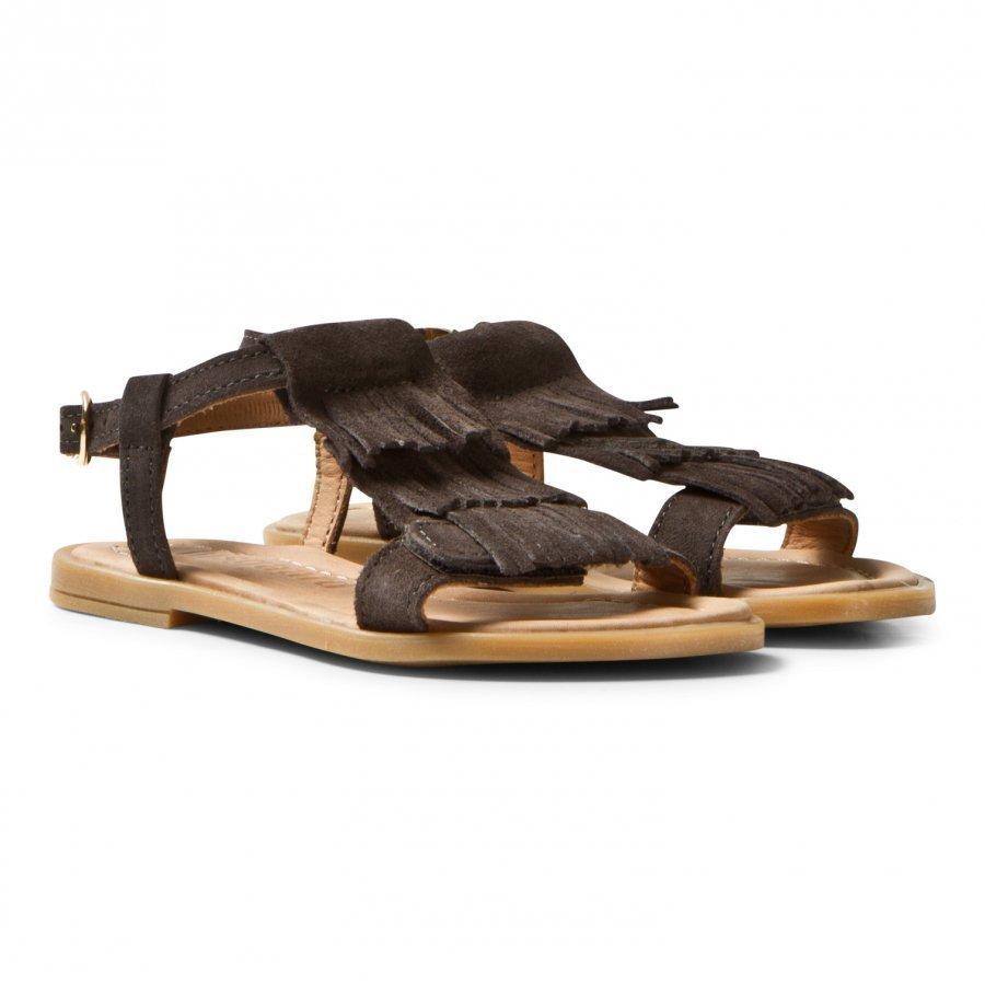 Bisgaard Sandals Taupe Remmisandaalit