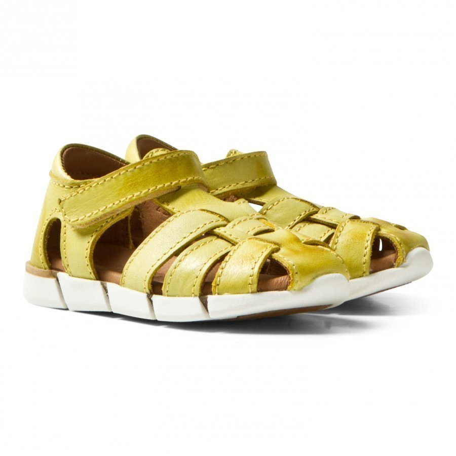 Bisgaard Sandals Yellow Remmisandaalit