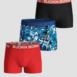 Björn Borg Shorts Sammy Bb Fleur De Jardin Bokserit Sininen