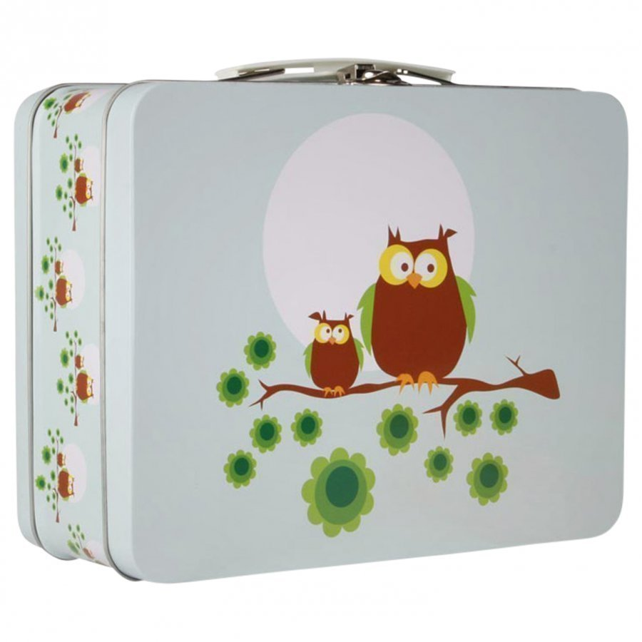 Blafre Lunchbox Blue Owls Lounasrasia
