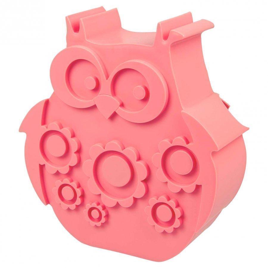 Blafre Lunchbox Pink Owl Lounasrasia