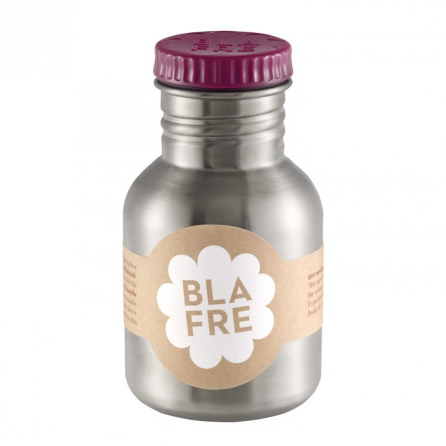 Blafre Steel Bottle 300ml Plum Red Vesipullo