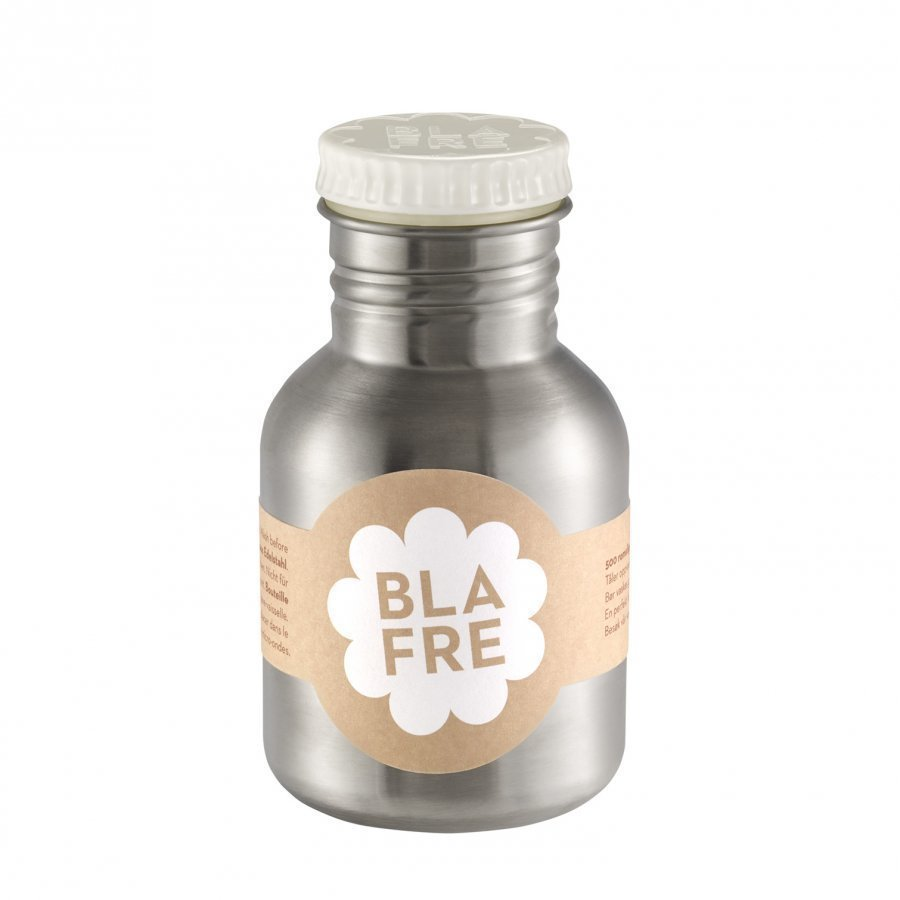 Blafre Steel Bottle 300ml White Vesipullo