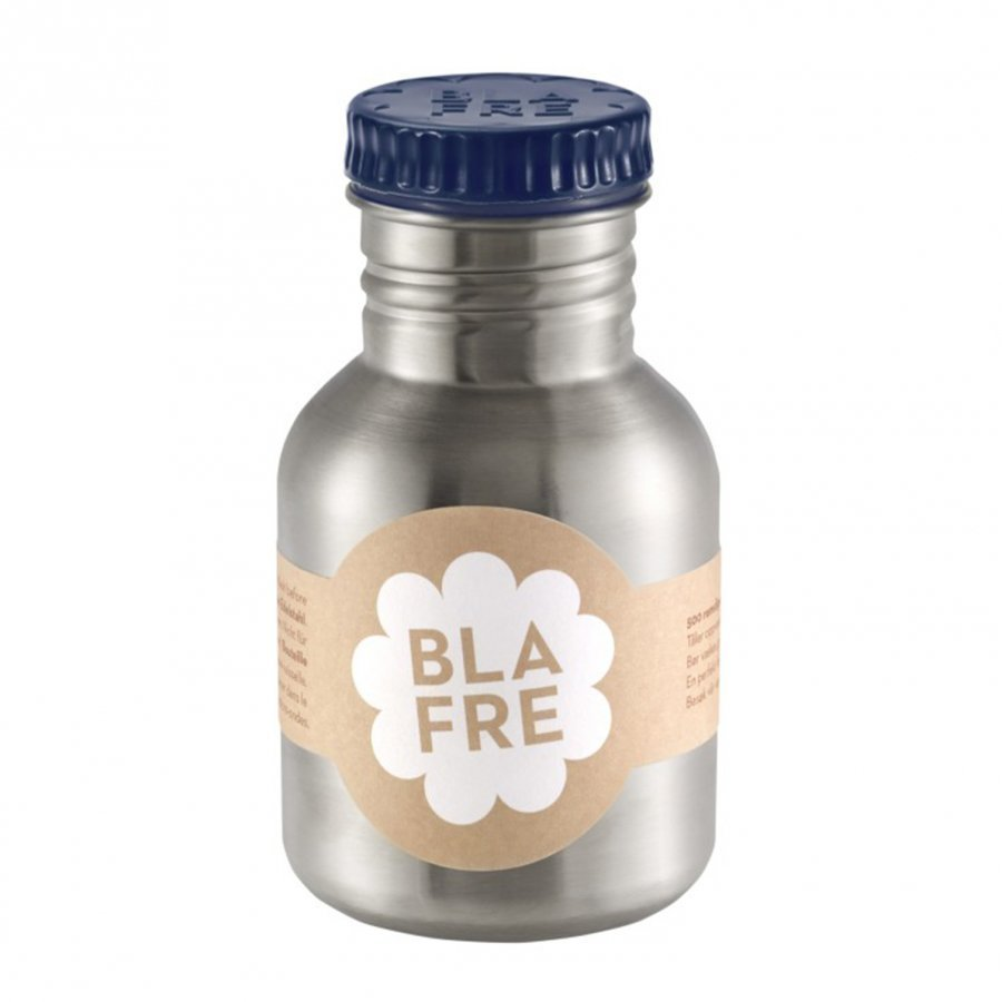 Blafre Steel Bottle Dark Blue 300ml Vesipullo