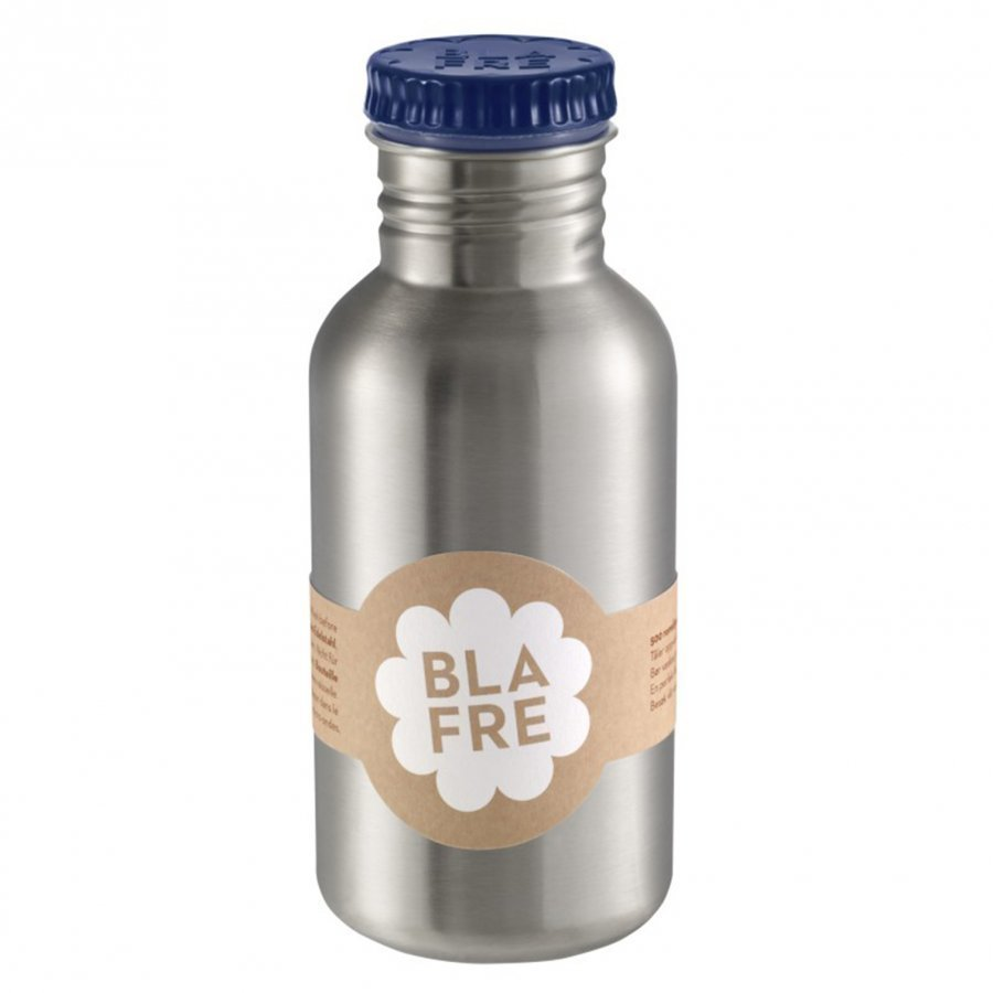 Blafre Steel Bottle Dark Blue 500ml Vesipullo