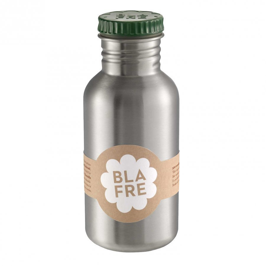 Blafre Steel Bottle Green 500ml Pullo